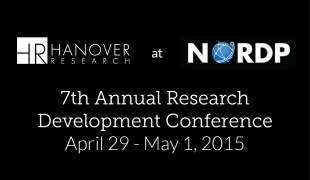Hanover Research Presents on Creativity and Grant Readiness at the 7th Annual NORDP Research Development Conference
