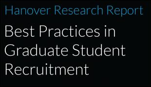 Best Practices in Graduate Student Recruitment