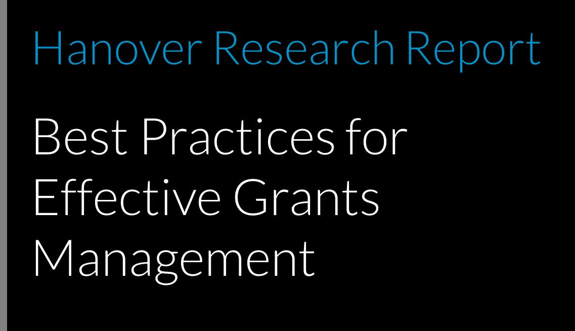 Best Practices for Effective Grants Management
