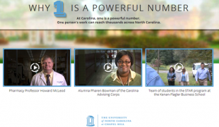 University of North Carolina's One campaign