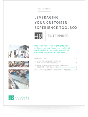 Leveraging Your Customer Experience Toolbox