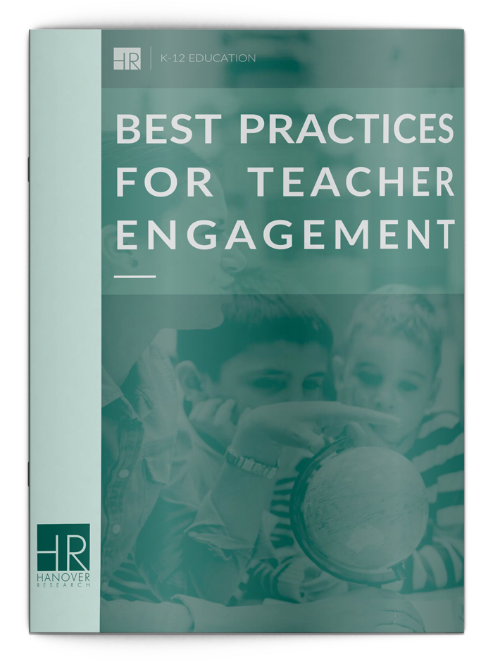 Best Practices for Teacher Engagement