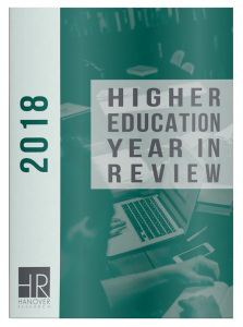 2018 Higher Education Year in Review