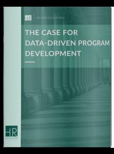 the case for data-driven program development