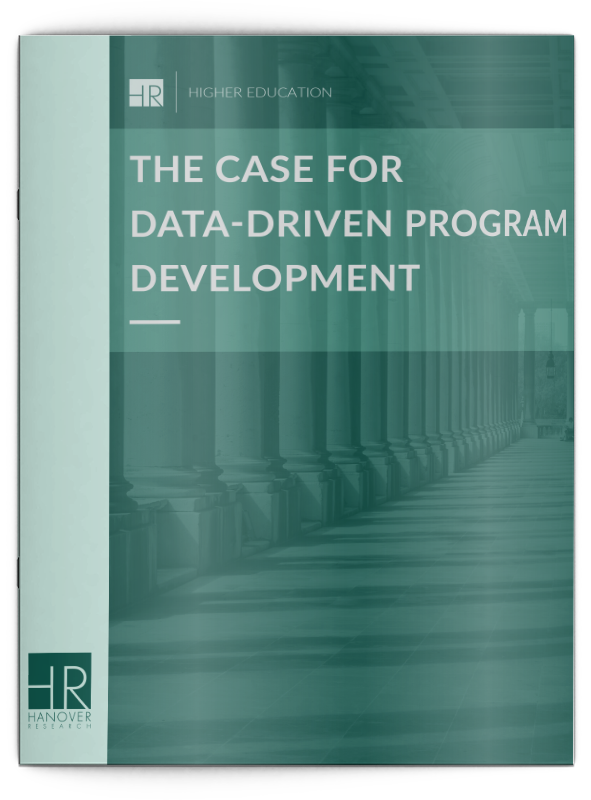 the case for data-driven program development