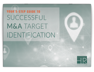 merger acquisition target identification