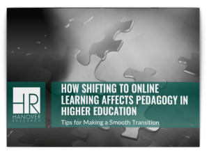 online learning pedagogy higher education