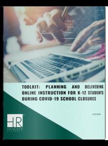 planning delivering online k-12 online instruction covid-19 school closures