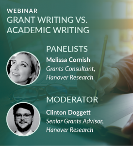 Grant Writing vs. Academic Writing