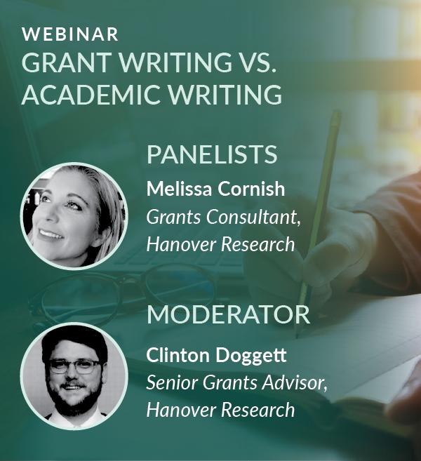 Webinar Recording: Grant Writing vs. Academic Writing