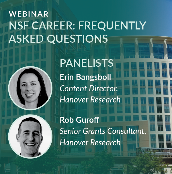 Webinar Recording: Frequently Asked Questions for NSF CAREER