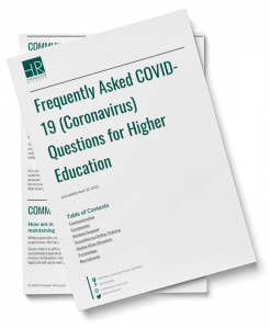 covid-19 higher education frequently asked questions