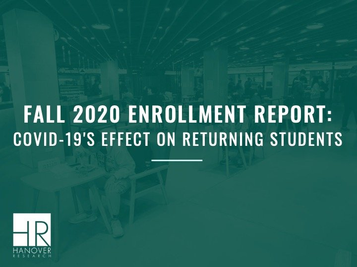 fall 2020 enrollment report
