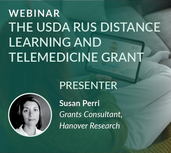 Webinar Recording: The USDA RUS Distance Learning and Telemedicine Grant