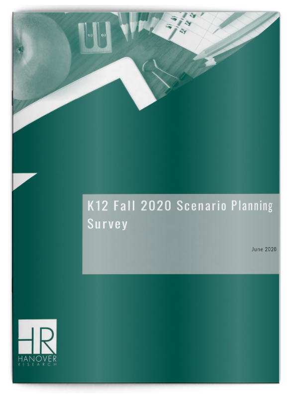 K12 Fall 2020 Scenario Planning Survey