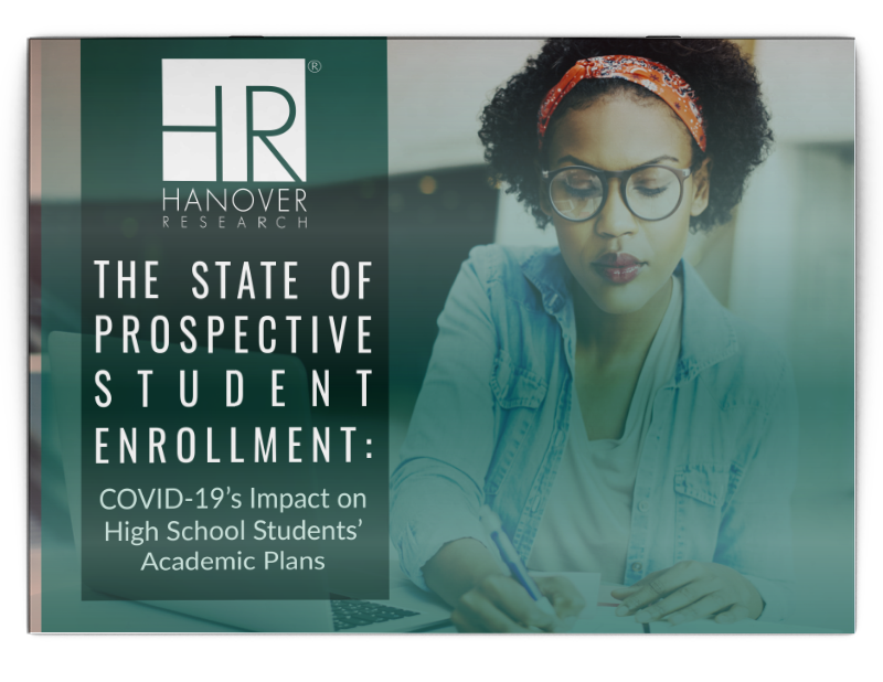 The State of Prospective Student Enrollment: COVID-19's Impact on High School Students' Academic Plans