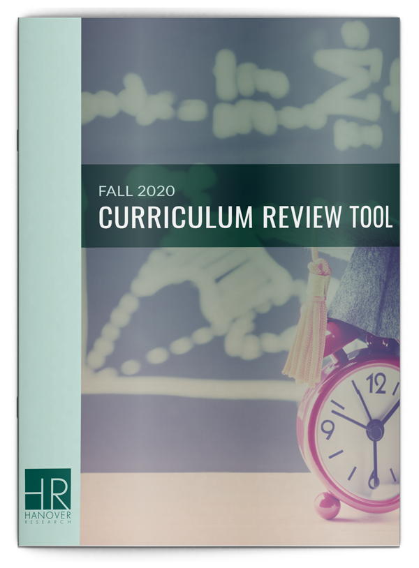 Fall 2020 Curriculum Review Tool
