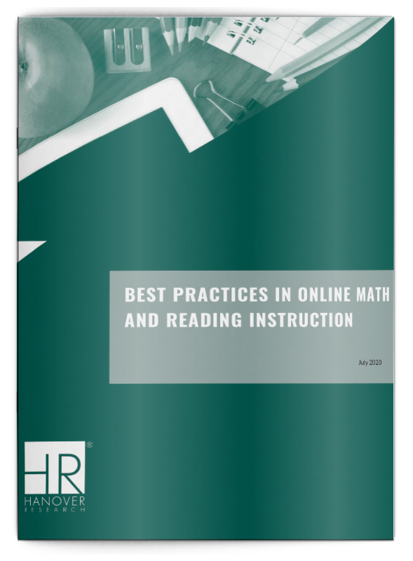 best practices in online math and reading instruction k-12