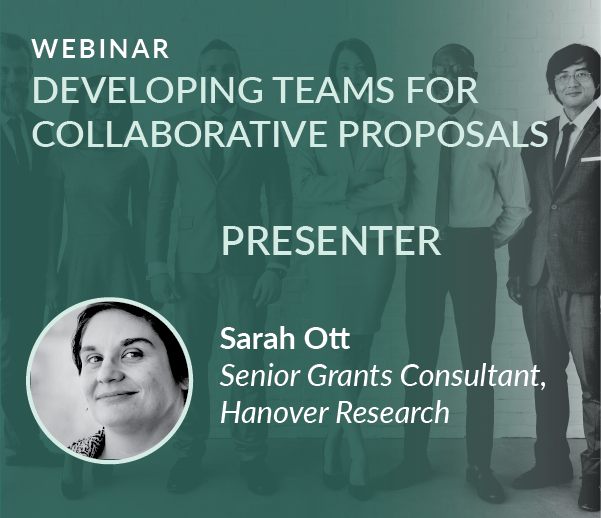 Webinar Recording: Developing Teams for Collaborative Proposals