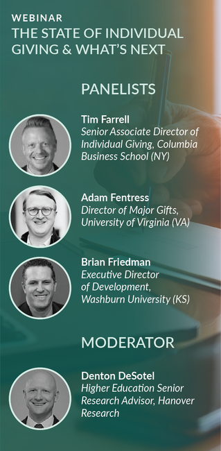 Webinar Recording: The State of Individual Giving & What's Next