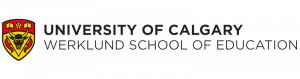logo for the the University of Calgary Werklund School of Education