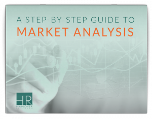 cover image for a step-by-step guide to market analysis