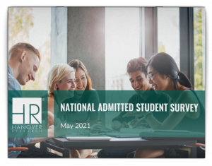 report cover for national admitted student survey