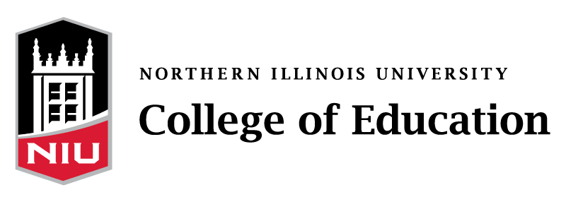 logo for the northern illinois university college of education